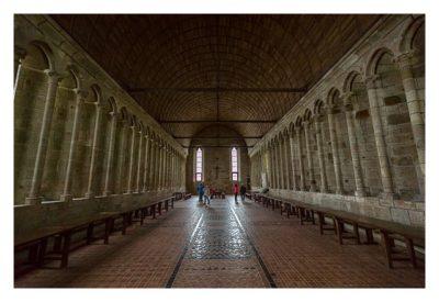 Mont Saint Michel - Das Refektorium