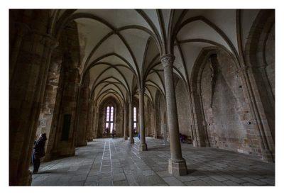 Mont Saint Michel - Die Halle für die Gäste