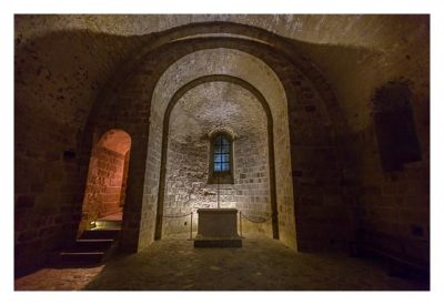 Mont Saint Michel - Enge Gänge und kleine Räume