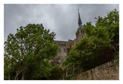 Mont Saint Michel - Der Klostergarten