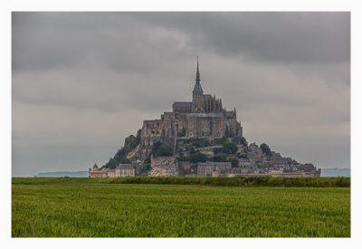 Mont Saint Michel - Der letze Blick auf den Mont Saint Michel