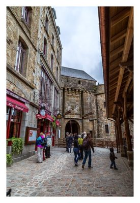 Mont Saint Michel - Ein Stadttor