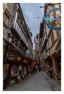 Mont Saint Michel - Die engen Gassen