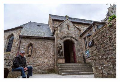 Mont Saint Michel - Die Kapelle