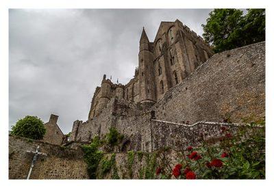 Mont Saint Michel - Der Weg zur Abtei