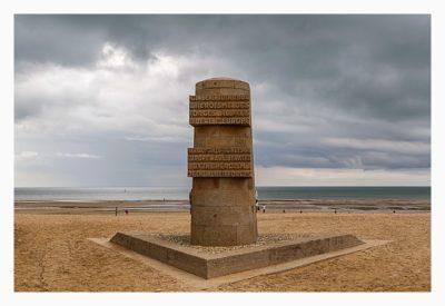 Östliche Landungsstrände - Juno Beach - Denkmal am Strand