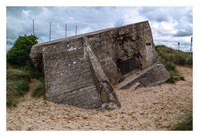 Östliche Landungsstrände - Juno Beach - Regelbau 612 am Strand