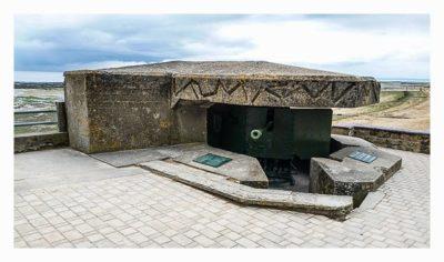 Östliche Landungsstrände - Sword Beach - Ringstand mit 5cm KwK