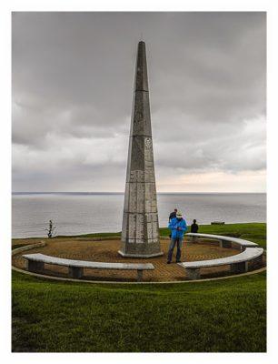 """Westliche Landungsstrände - Denkmal für die Infantrie """"Big Red One"""""""