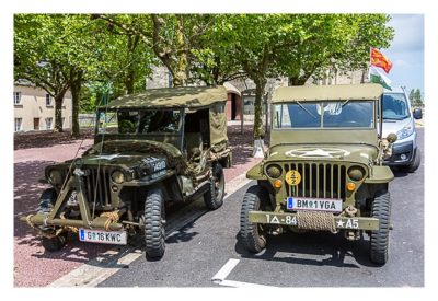 Westliche Landungsstrände - Historische Jeeps