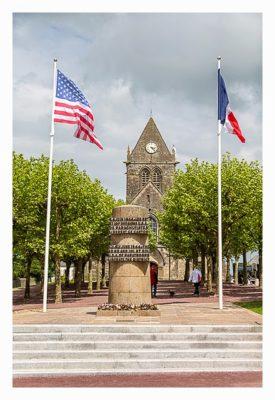 Westliche Landungsstrände - Denkmal für die Fallschirmjäger