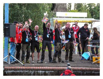 11. Geocaching-Meisterschaft - Die Sieger: Team Hildesheim