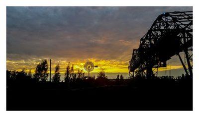 11. Geocaching-Meisterschaft - Sonnenuntergang im Landschaftspark