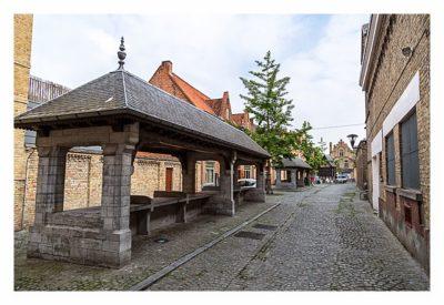 Geocaching in Flandern - Ypern - Der Fischmarkt