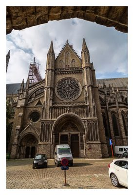 Geocaching in Flandern - Ypern - Kathedrale
