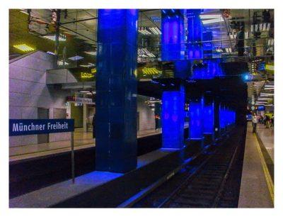 Münchner U-Bahn - Münchner Freiheit