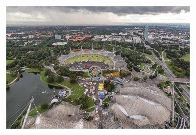 Giga München - Blick von Oben