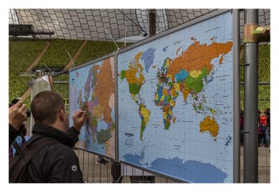 Giga München - Weltkarte