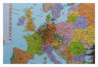Giga München - Deutschlandkarte