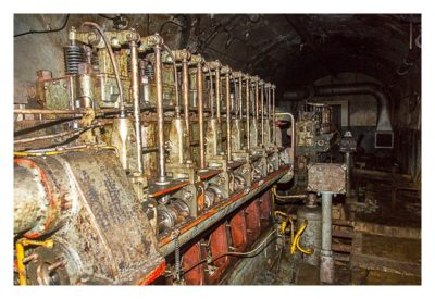 Zatroa - Motor für die Generatoren
