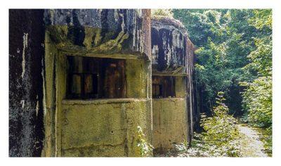 Zatroa - Artillerie-Bunker