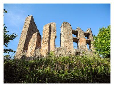 Ramberg und der Dahner Felsenpfad - Auf der Burg