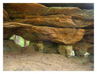 Ramberg und der Dahner Felsenpfad - Felsen unterwegs