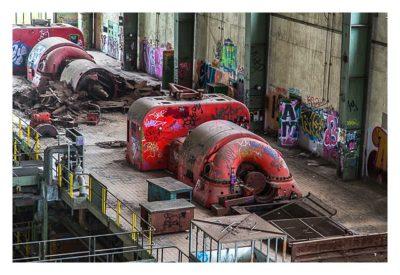 Red Land - Der Lost Place in Luxembourg - Die Generatoren