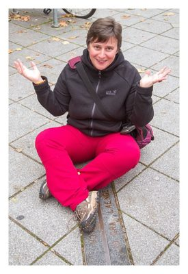 Geocoinfest Europe 2014 Ulm - saarzwerg am 10. Längengrad