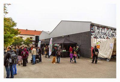 Geocoinfest Europe 2014 Ulm - Die Austellungshalle