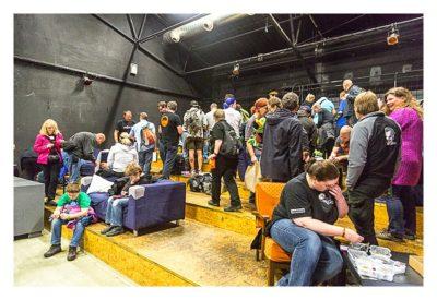 Geocoinfest Europe 2014 Ulm - Hier wurde getauscht