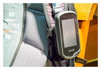 GPS-Halterung: Mein Test - Backpack tether mit Oregon 600 am Rucksack