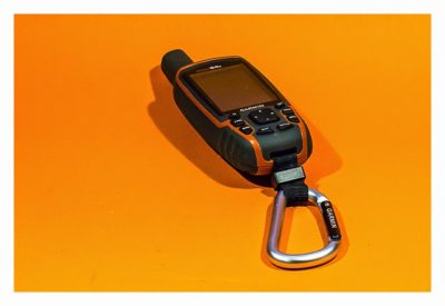 GPS-Halterung: Mein Test - Lanyard carabiner am GPSmap 64s