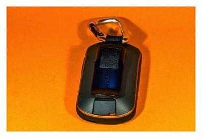 GPS-Halterung: Mein Test - Standardkarabiner am Oregon 600
