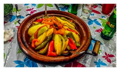 Im hohen Atlas: Abendessen Tajine