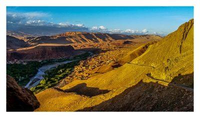 Im hohen Atlas: Auf dem Weg zum Geocache Bou Thrarar