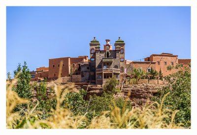 Im hohen Atlas: die Kasbah aus Beton