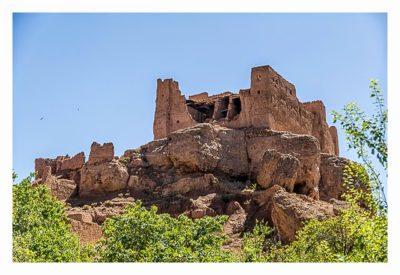 Im hohen Atlas: die verfallene Kasbah