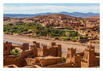 Aït-Ben-Haddou - Die Altstadt und das neue Dorf