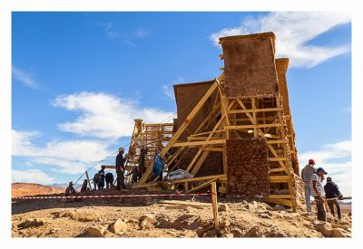 Aït-Ben-Haddou - Der Bau einer Filmkulisse