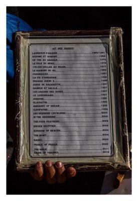 Aït-Ben-Haddou - Liste der Filme, die hier gedreht wurden.