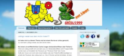 Grisu1999 - Screenshot vom Blog