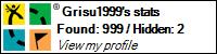 Grisu1999's stats