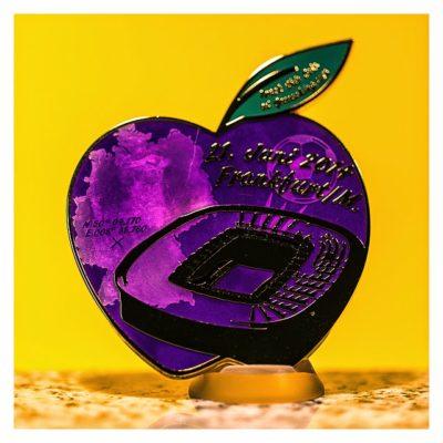 Big Äppel Helfercoin Rückseiteseite