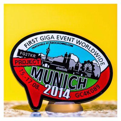 Project MUNICH2014 ? Mia san Giga - Eventcoin - Vorderseite