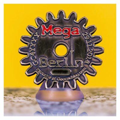 MegaBerlin 2014 ? MegAdvent - Eventcoin - Rückseite