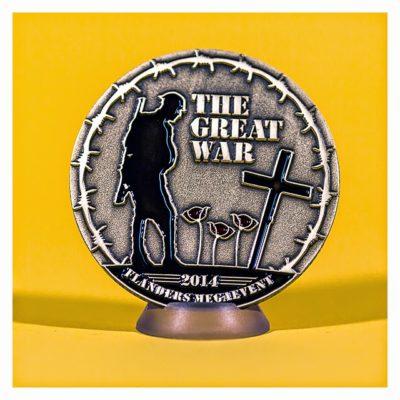 The Great War Mega Event 2014 - Eventcoin - Vorderseite