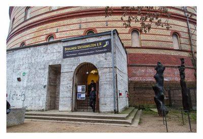 MegAdvent - Eingang zum Bunker in der Fichtestraße
