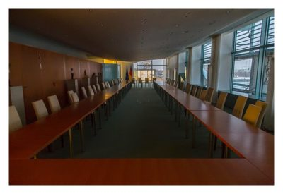 Mit dem Berufsgeocacher ins Bundeskanzleramt - Bankettsaal