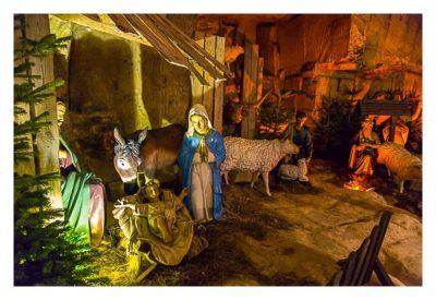 Valkenburg - Weihnachtsmarkt - Krippe